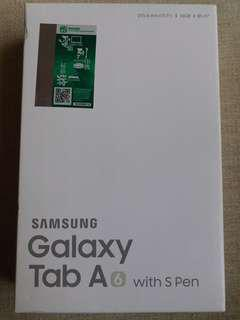 Samsung Galaxy Tab A6 with s pen brand new 16GB