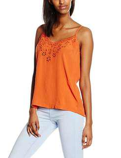 New Look Cutout Scallop Cami Top