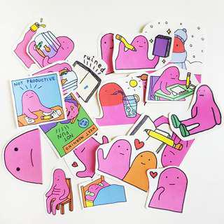 🚚 Blobby Sticker Pack (Telegram)