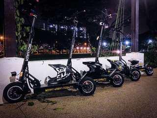 Up to 90KM KRATOS E-Scooter