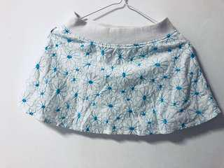 Osmose Embroidered Floral Mini Skirt