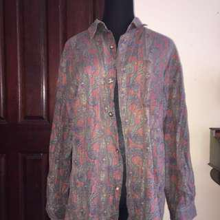 Paisley Floral Funky Shirt