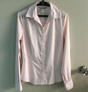 Pink Pinstriped H&M Shirt