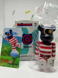 (genuine) Bearbrick Series 31 Flag Malaysia figure