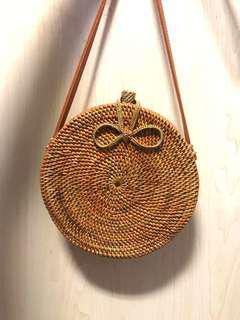 BRAND NEW | Round Rattan Bag