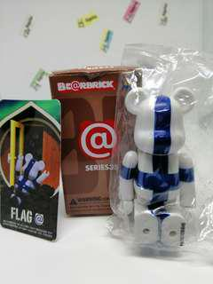 (genuine) Bearbrick Series 35 Flag Finland figure