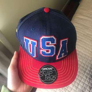 USA Authentic Snapback