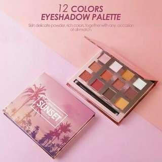 Focallure Eyeshadow Sunset Burning Import