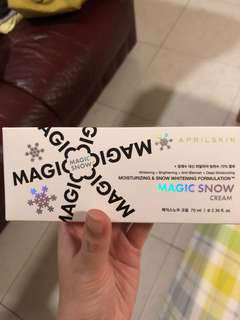 Aprilskin magic snow cream