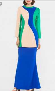 Melinda looi merseilla retro color block blue