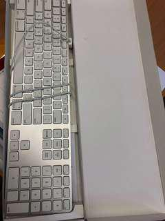 Apple Keyboard-For Parts as some defects-read description