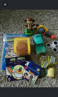 🚚 Set of 10 toys misc