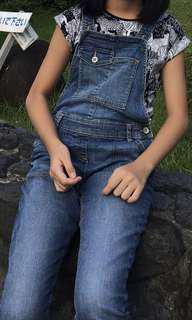 UK Next dungarees fitting 11 to 12 years old
