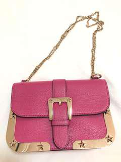 RED VALENTINO HOT PINK BAG