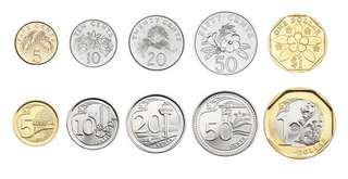LOOKING FOR SINGAPORE COINS