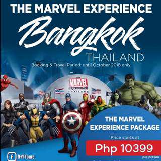 The MARVEL EXPERIENCE BANGKOK THAILAND