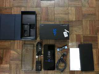 Sale or swap Samsung G S9 plus 128gb Midnight black openline