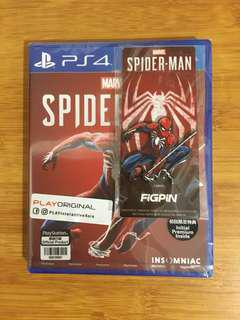 Brand New PS4 Spider-man