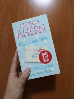 PS i love you & If you could see me now by Cecilia Ahern