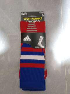 Adidas team speed climalite traxion basketball socks 籃球襪