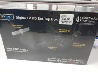BNIB Digital TV HD Setup Box