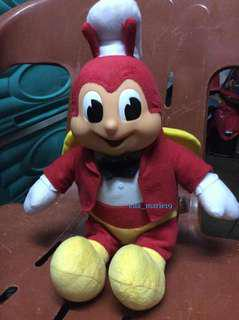 Jollibee Huggable Doll and Hoodie Bag