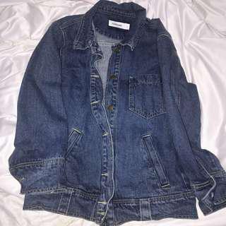 TEM oversized denim jacket