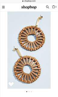Cult Gaia Ark earrings