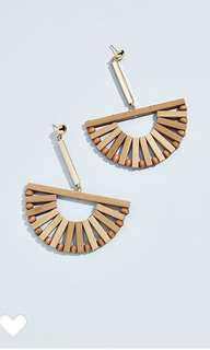 Cult Gaia Fan earrings