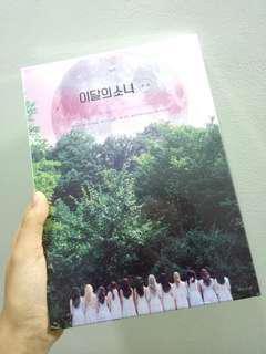 sealed loona ++ limited ver B album instock