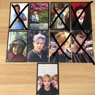 [FREE NM/WTS] Stray kids official i am not album photocards