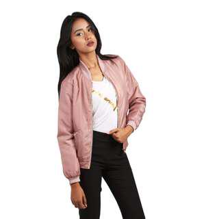 Cute Satin bomber jacket. Size S