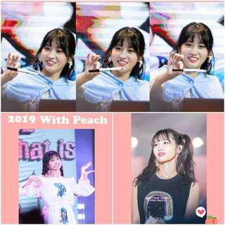 WithPeach_ Momo's birthday support in Korea