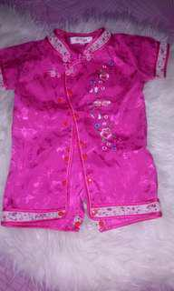 Jumper Cheongsam pink
