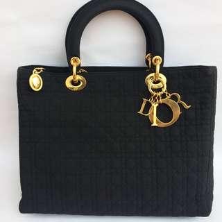 2e1924cd144 Christian Dior Lady Dior Nylon Cannage Handbag