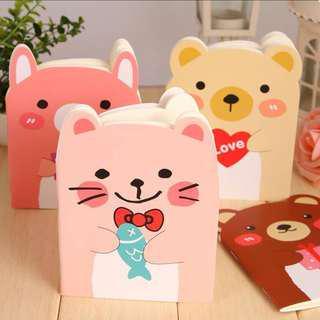 Goodie Bag Bear Notebooks