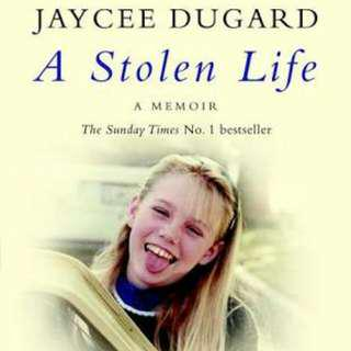 A Stolen Life By Jaycee Duguad - A Memoir. Paperback Novel. GREAT CONDITION