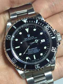 勞力士 Rolex 16600 Sea Dweller 深潛 T25 面有紙 gmt submariner 16610 14060 16710