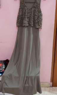 Dress Renda H&M  hijau army