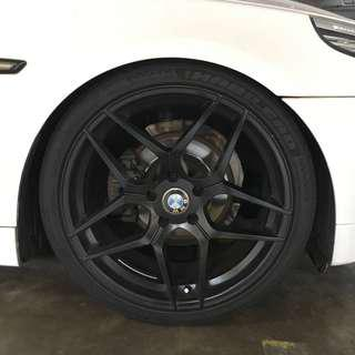 Bmw Rims and tyres 20""