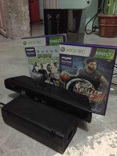 Xbox 360 E US NTSC with kinect