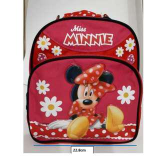 Disney Minnie Mouse BackPack Bag (New Set)