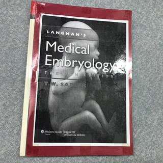 Langman's Medical Embryology twelfth edition