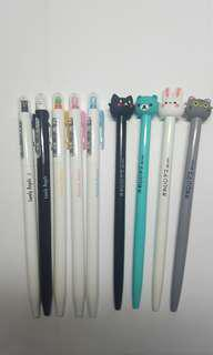 Cute Animals Pens Cat Kitty Angel Carrot