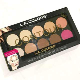 LA Colors 10-palette Contour Kit