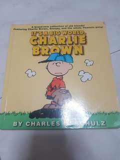Charlie Brown and snoopy comic book