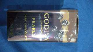Godiva pearl dark chocolate
