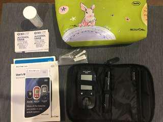 Accu-check full set glucose meter