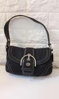 Auth Coach small Handbag Shoulder bag michael kors kate spade