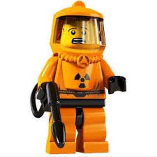 LEGO minifigure series 4 hazmat guy